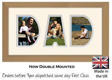 Dad Photo Frame Name Frame Personalised Birthday Picture Gift Photos in a Word