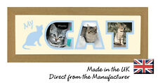 My Cat Word Photo Frame by Photos in a Word, Gift for Children