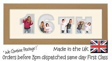 16th Birthday Photo Frame Name Frame Personalised Picture Gift Photos in a Word