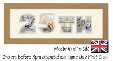 25th Birthday Photo Frame Personalised Gift Silver Wedding by Photos in a Word