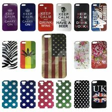 Hard Back Phone Case Keep Calm Carry On and More Mobile For iPhone 5 5G 5GS