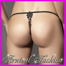 NEW sexy LINGERIE black G STRING THONGS PANTY LACY G-STRING mesh thong underwear