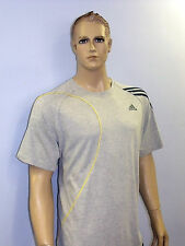 ADIDAS Mens Gym Running  T- Shirt Top - Nice Grey Colour!!!!