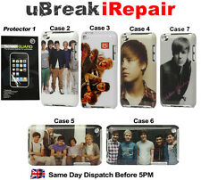 iPod Touch 4 4G 4th Gen Quality 1D 1 One Direction & Justin Bieber JB Case Cover