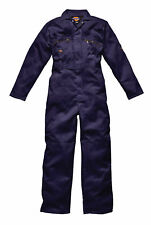 "Dickies Redhawk WD4839 Overalls Coveralls Boilersuit Green Navy or Black 36""-60"""