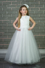 New Wedding Flower Girl Bridesmaid Party First Holy Communion Dress Age 2-13