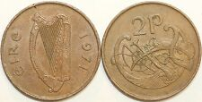 1971 to 2000 Ireland Bronze Pre Euro Decimal Two Pence Your Choice of Date