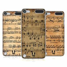 HEAD CASE DESIGNS MUSIC SHEETS CASE COVER FOR APPLE iPOD TOUCH 5G 5TH GEN