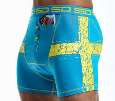 Swedish Smuggling Duds Boxer Briefs, Cotton Blend