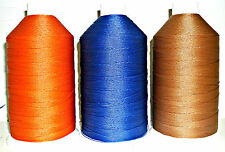 STRONG BONDED NYLON THREAD 20'S, 1500MTRS SOMAC THREADS, ASSORTED COLS, FREE P&P
