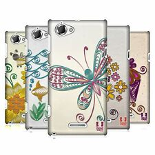 HEAD CASE DESIGNS QUILLING CASE COVER FOR SONY XPERIA L C2105