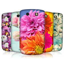 HEAD CASE FLOWERS PROTECTIVE HARD BACK CASE COVER FOR BLACKBERRY TORCH 9800 9810