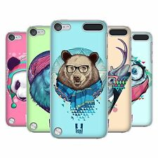 HEAD CASE DESIGNS FAUNA HIPSTERS CASE COVER FOR APPLE iPOD TOUCH 5G 5TH GEN