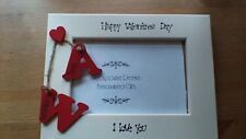 Valentines Day Personalised Photo Frame