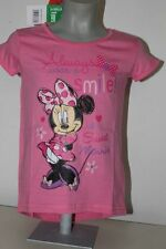 Disney Minnie Maus Kinder T-Shirt  Gr.  rosa 92, 104, 116, 128  top@@@@@