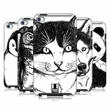 HEAD CASE DESIGNS DRAWN ANIMALS CASE COVER FOR APPLE iPOD TOUCH 4G 4TH GEN