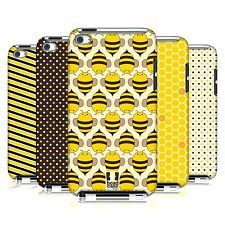 HEAD CASE DESIGNS BUSY BEE PATTERNS CASE COVER FOR APPLE iPOD TOUCH 4G 4TH GEN