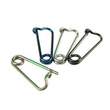 Eyebrow Snug Rook Safety Pin Barbell Anodized Colour Helix Nipple Piercing 16g