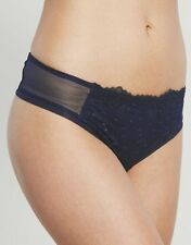 New Triumph Essence Charming Essence String Thong / Knickers Size 10,14,16 Blue