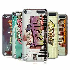 HEAD CASE DESIGNS POSTCARDS CASE COVER FOR APPLE iPOD TOUCH 5G 5TH GEN