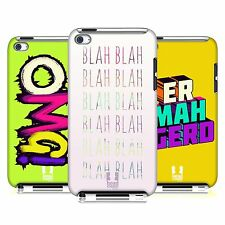 HEAD CASE DESIGNS WATCHA SAY CASE COVER FOR APPLE iPOD TOUCH 4G 4TH GEN