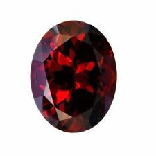 NATURAL DEEP RED GARNET - OVAL - TANZANIA - AAA GRADE - LOOSE GEMSTONE