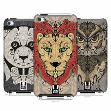 HEAD CASE DESIGNS ANIMAL SWIRLS CASE COVER FOR APPLE iPOD TOUCH 4G 4TH GEN