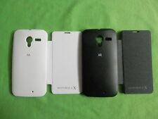 For MOTOROLA MOTO X  Flip Cover Black Case Dairy Pouch Flap Cover