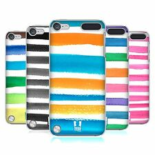 HEAD CASE DESIGNS COLOURED STRIPES CASE COVER FOR APPLE iPOD TOUCH 5G 5TH GEN