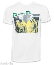 T-shirt Breaking Bad Walter & Jesse in Yellow suits maglia Uomo ufficiale