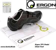 Ergon TP1 Pedal SPD Cleat Shimano SPD  Look Keo MTB RR Schuh Einstell Schablone