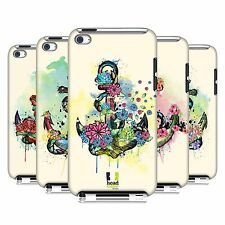 HEAD CASE DESIGNS FLOURISH ANCHOR CASE COVER FOR APPLE iPOD TOUCH 4G 4TH GEN