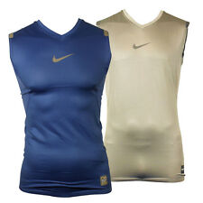 Nike Pro Combat Hypercool Sports Mens Training Vest Compression Baselayer Top