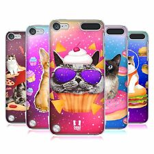 HEAD CASE DESIGNS REALISTIC CATS IN SPACE CASE FOR APPLE iPOD TOUCH 5G 5TH GEN