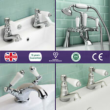 IMPERIOR TRADITIONAL VICTORIAN SINK BASIN MONO BATH FILLER SHOWER CHROME TAPS