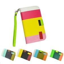 New Leather Flip Case Cover Pouch Designer Wallet Samsung Galaxy S2 i9100