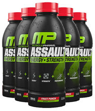 MusclePharm Assault NEW READY TO DRINK Pre Workout 12 BOTTLES