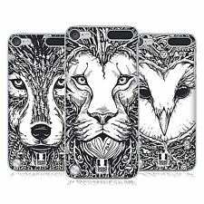 HEAD CASE DESIGNS DOODLE ANIMAL FACES CASE COVER FOR APPLE iPOD TOUCH 5G 5TH GEN