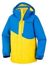 Kids - Chaquetas insuladas Columbia Evo Fly Hyper Blue  Bright Yellow Youth