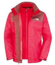 Giacche isolata staccabile The North Face Evolve Ii Triclimate Rage Red  Cherry