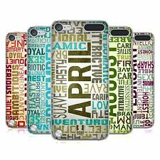 HEAD CASE DESIGNS BIRTH MONTH PERSONALITIES CASE FOR APPLE iPOD TOUCH 5G 5TH GEN