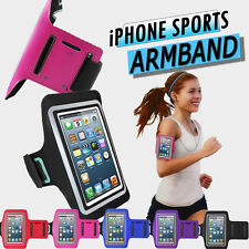FOR iPHONE 5S 5 SPORTS ARMBAND CASE GYM RUNNING COVER JOGGING STRAP HOLDER