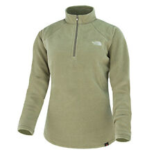 THE NORTH FACE W 100 GLACIER 1/4 ZIP FLEECE PULLOVER WEIMERANER BROWN T0A6LCDR8
