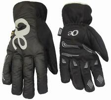 Outeredge Areotex Black Reflective Breathable Waterproof Padded Cycling Gloves