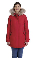 GIACCA GIUBBOTTO PARKA NORWAY FROZEN donna rosso