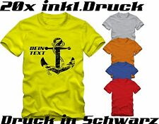 20 T-Shirts bedrucken  | Direktdruck | T-Shirts bedrucken | Fruit of The Loom