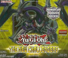 Yu-gi-oh The New Challengers NECH Rare Cards Single/Playset Take Your Pick New