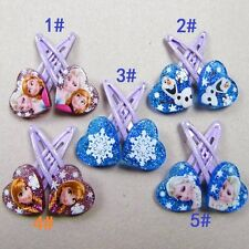 Frozen My Little Pony Children Girls Hair Clip Hair Accessories Kids Hairpin
