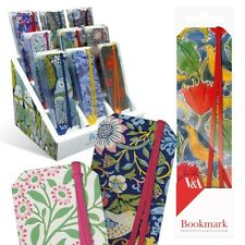 V&A BOOKMARKS Victoria and Albert Museum Fabric Textile Design and Wallpaper