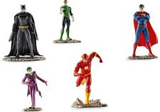 SCHLEICH Justice League BATMAN SUPERMAN THE FLASH SUPERHELDEN - nur 1mal Porto !